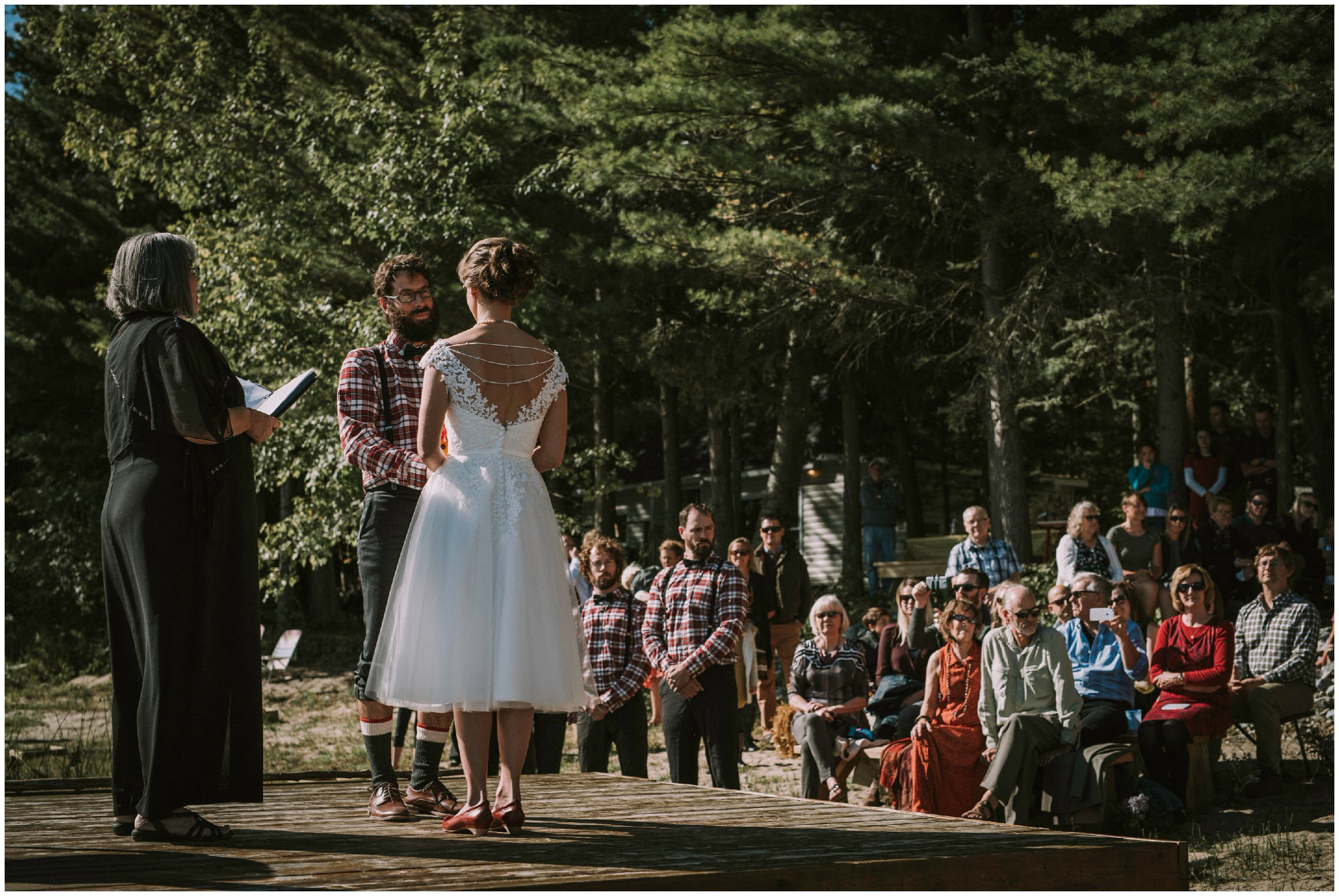 Cottage Wedding Ontario
