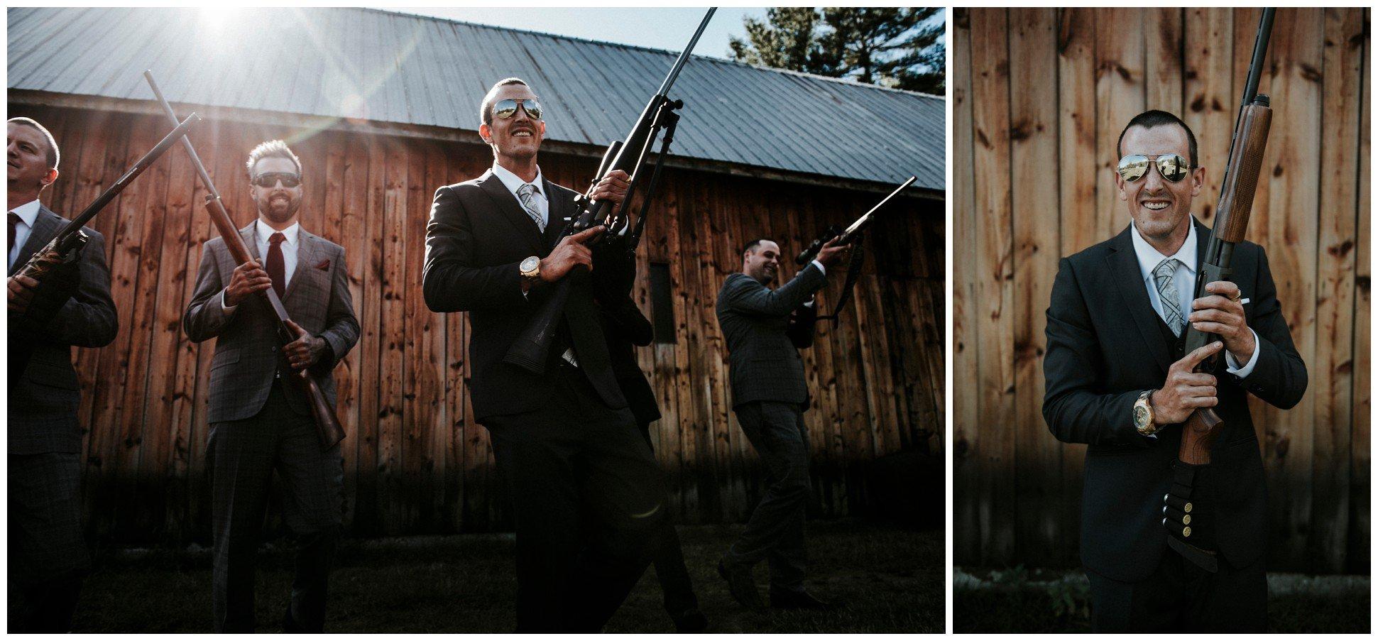 Intimate Ottawa Valley Wedding