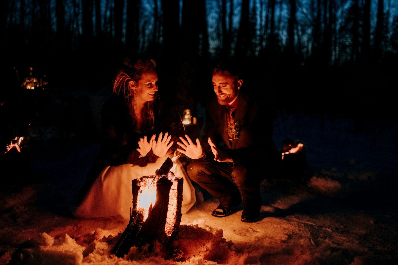 Ottawa Intimate Winter Wedding