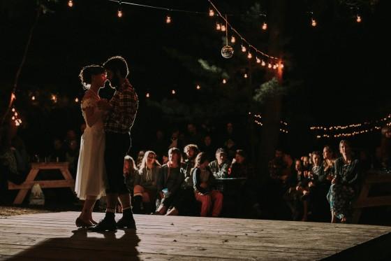 Rustic Lanark Wedding