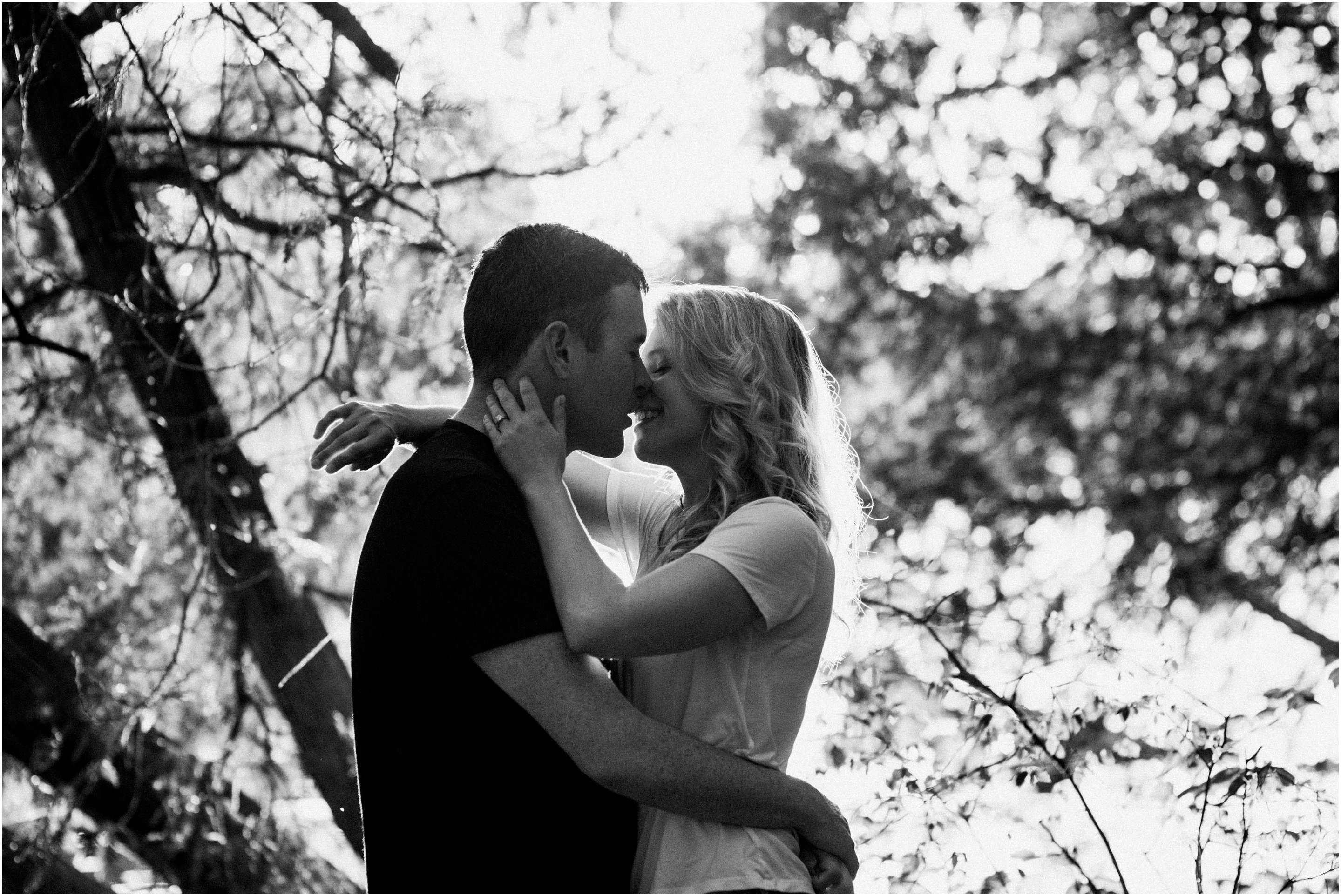 Shaw Woods Adventure Engagement Session - Cindy Lottes Photography