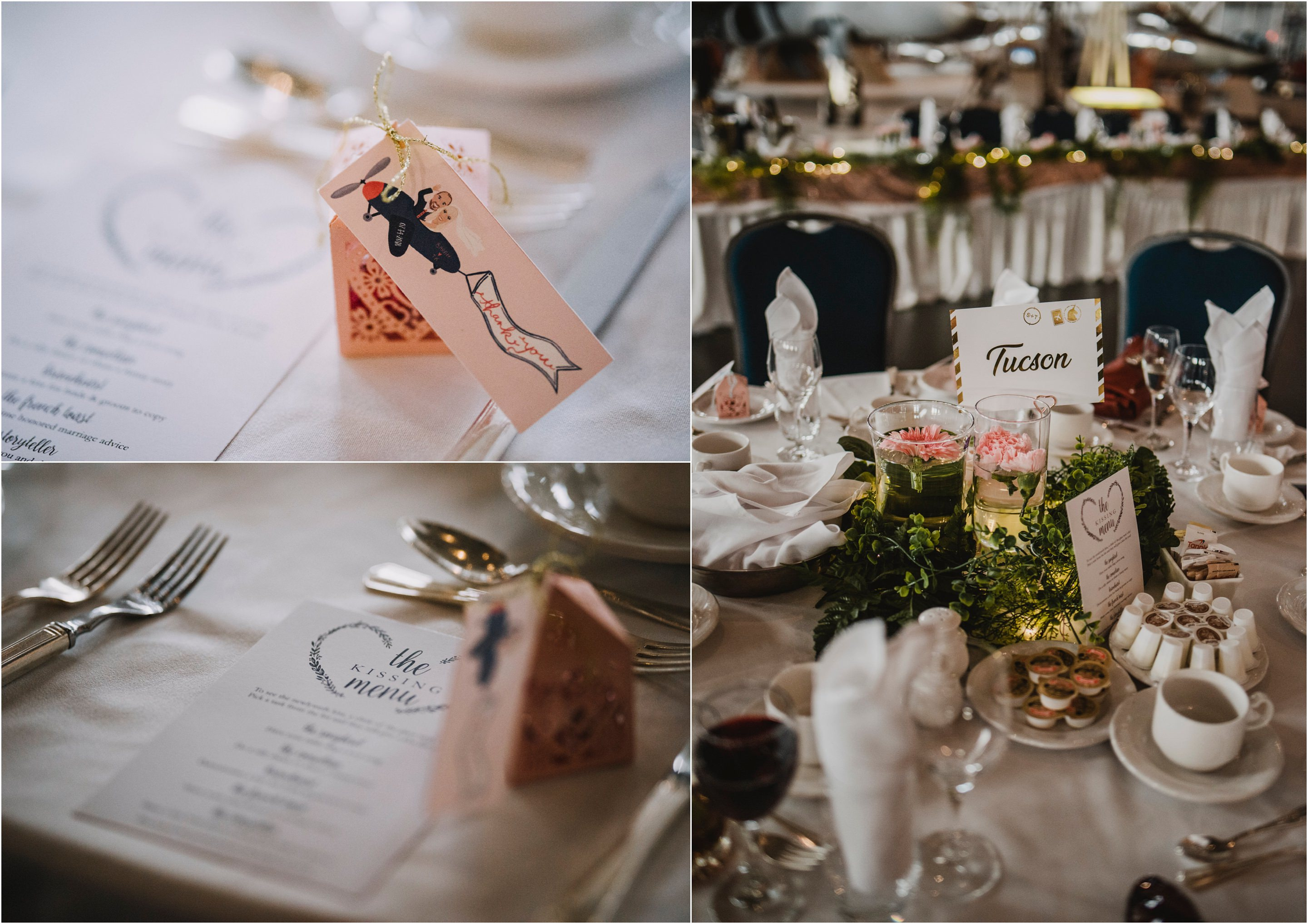 Canadian Aviation and Space Museum Wedding
