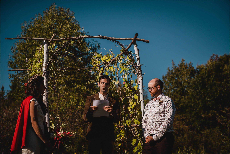 Quebec Backyard Wedding