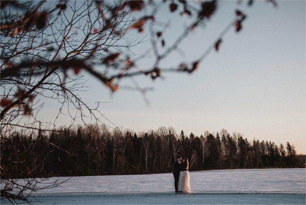 Renfrew Winter Wedding