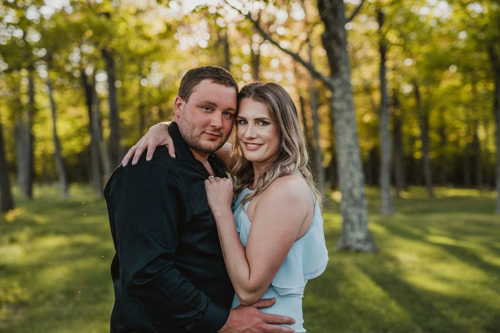 Luskville Falls Engagement