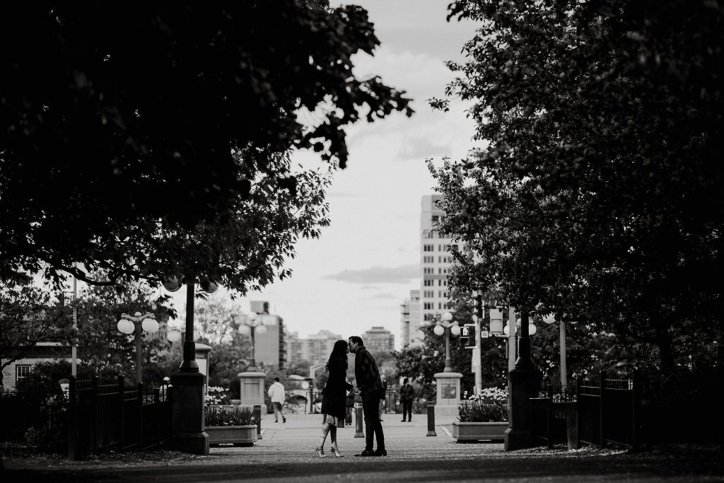 Major's Hill Park Ottawa Engagement