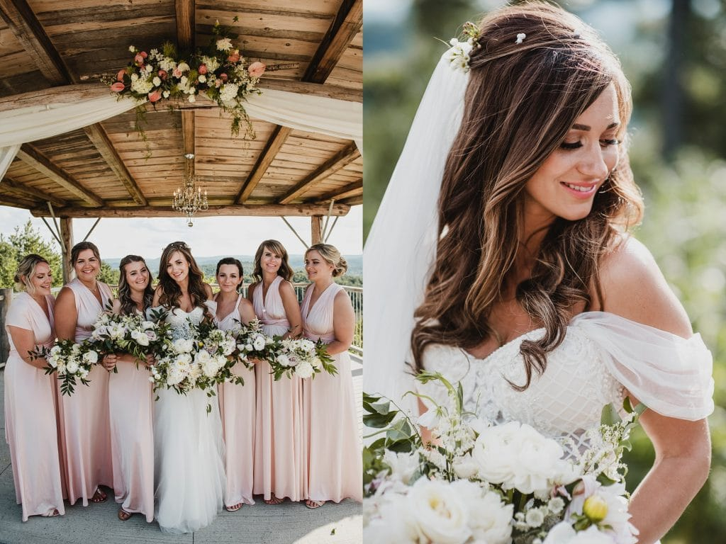Le Belvedere Wedding makeup by Klava Zykova