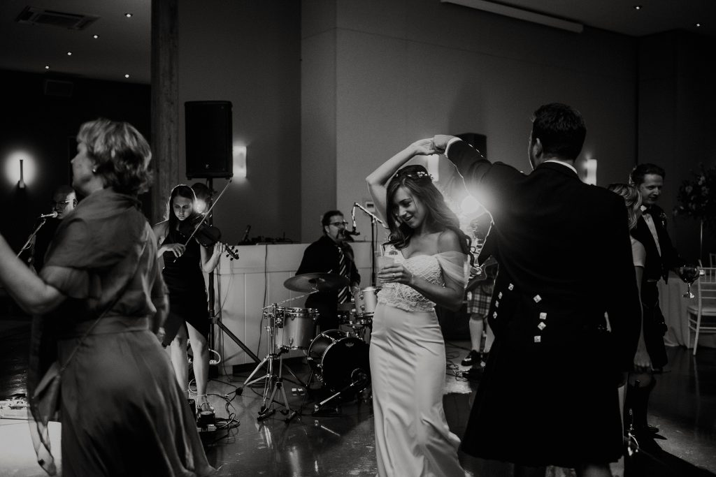 Le Belvedere Cliffside Wedding Reception