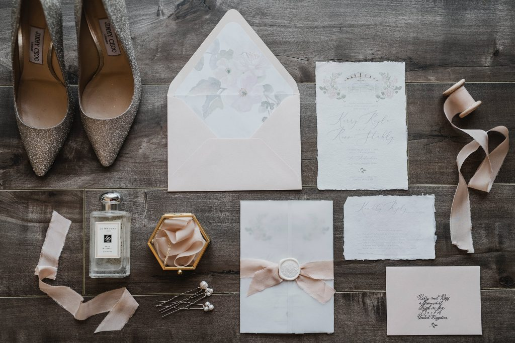 Custom Wedding Stationery by Casey Snyder Design for this beautiful Le Belvedere Wedding