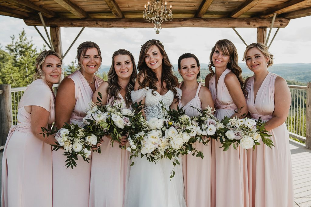 Le Belvedere Wedding flowers by Pollen Nation Floral Studio