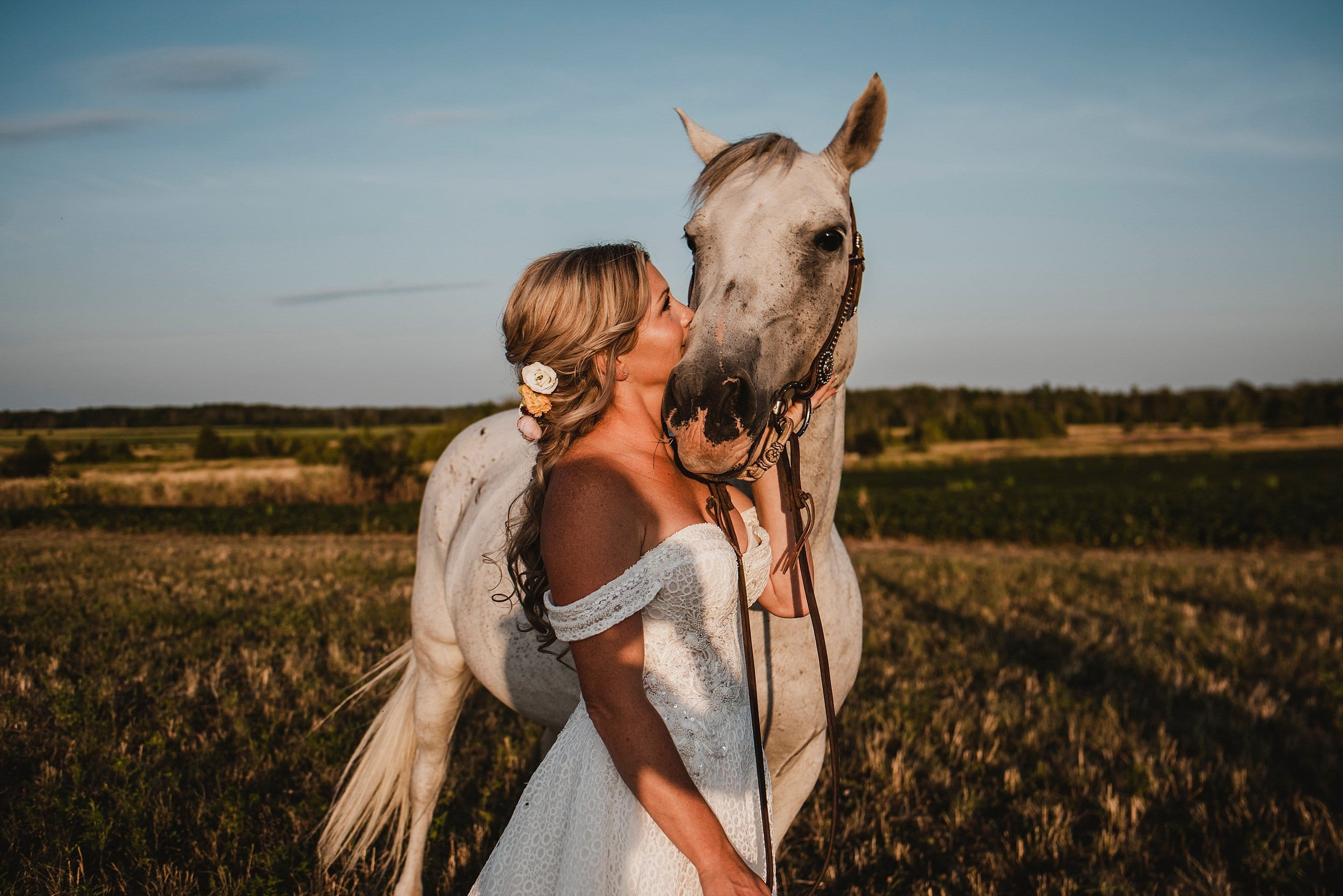 Ottawa Valley Horse Wedding