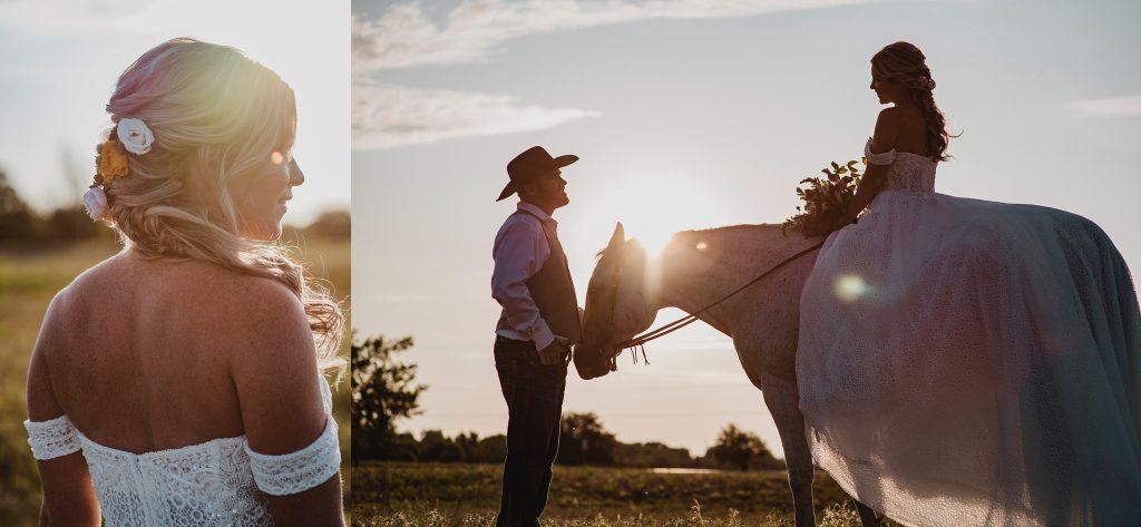 Ottawa Valley Horse Wedding