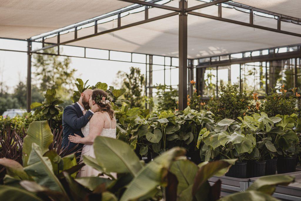 Aquatopia Greenhouse Ontario Wedding