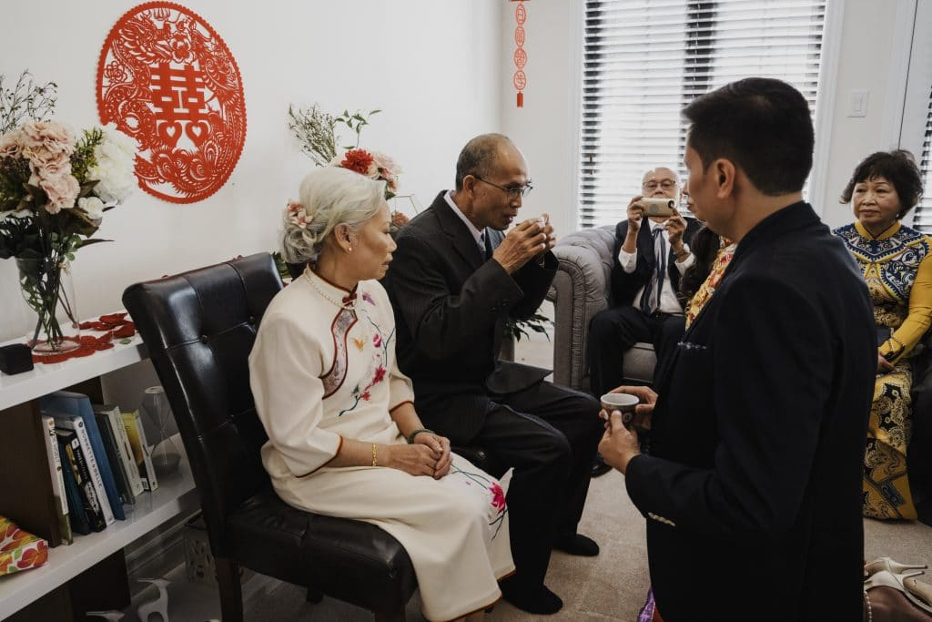 Traditional Tea Ceremonies and Wedding at NeXT (Ottawa)
