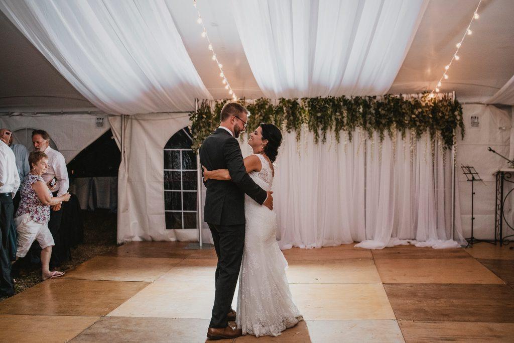 Ottawa Valley Wedding - First Dance as Bride & Groom