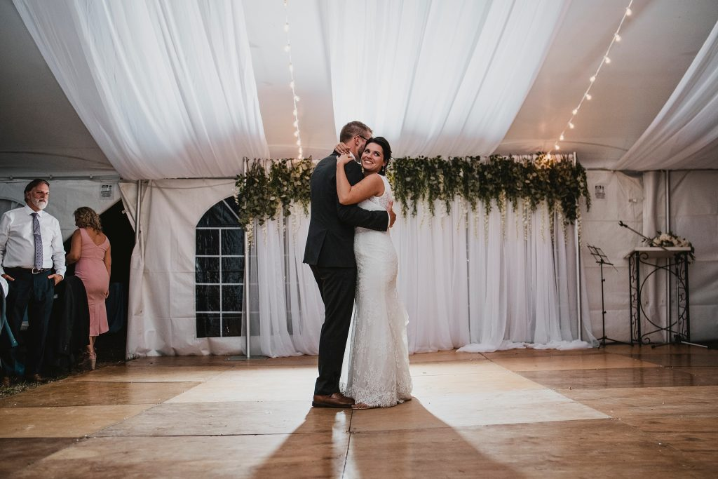 Ottawa Valley Wedding - First Dance as Bride & Groom