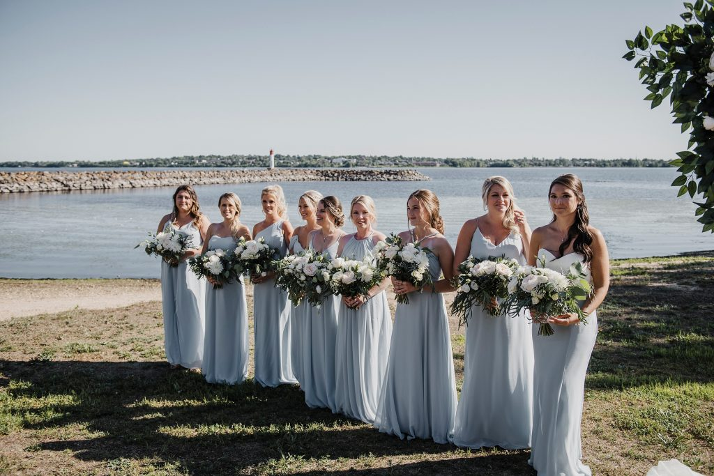 Ottawa Valley Wedding - Bridesmaid dresses from Crazy Beautiful Dresses in Pembroke