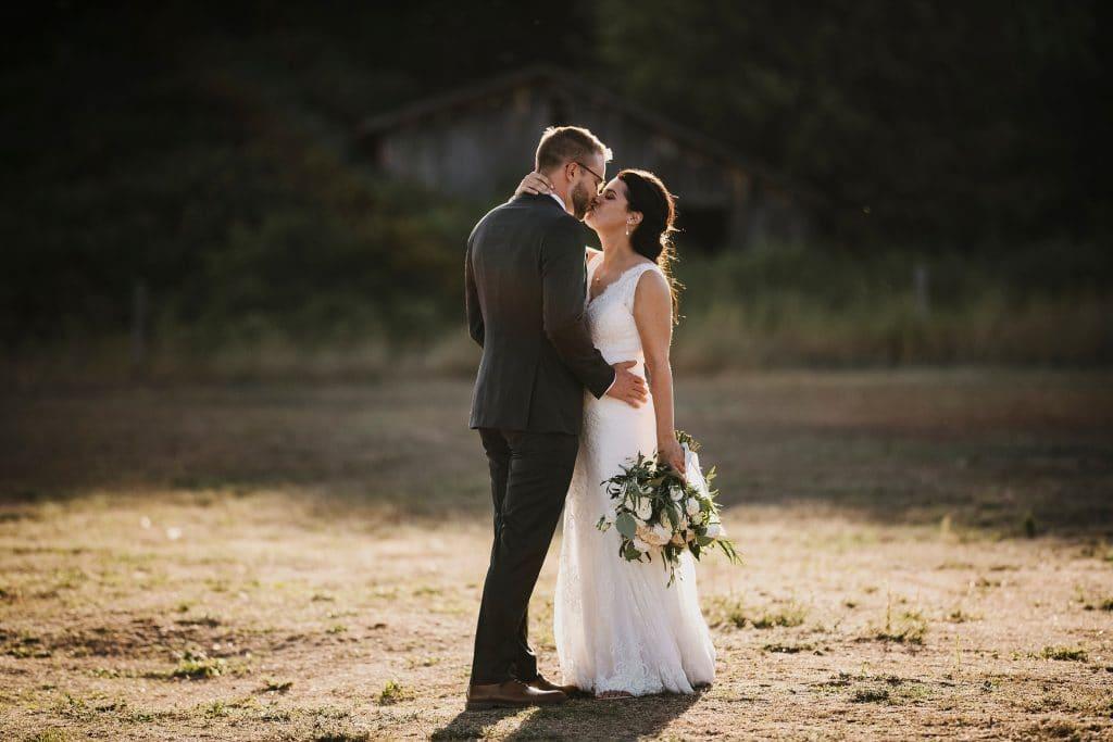 Ottawa Valley Wedding - sunset portraits