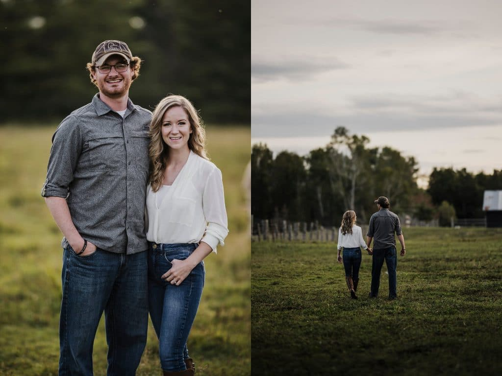 Outdoor Enthusiasts Pembroke Engagement Session