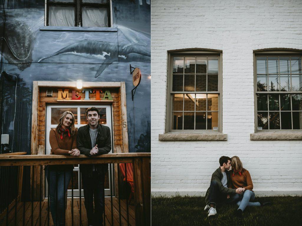 Jamari Espresso House Ottawa Engagement