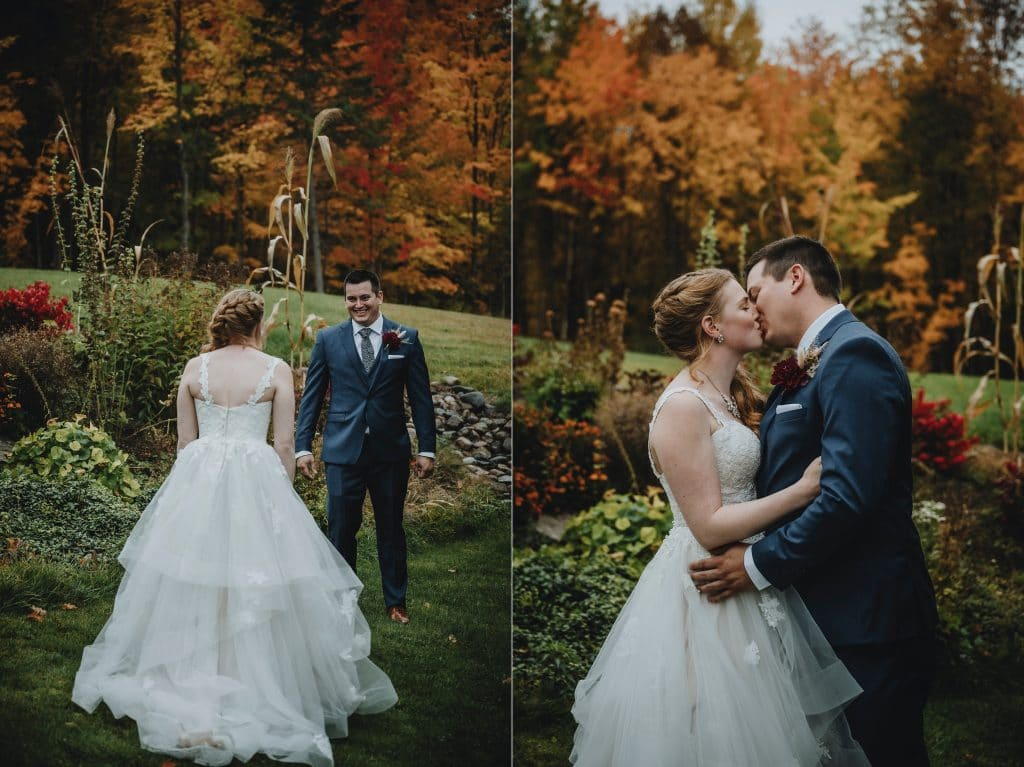 Auberge North Fork wedding in Chichester Quebec