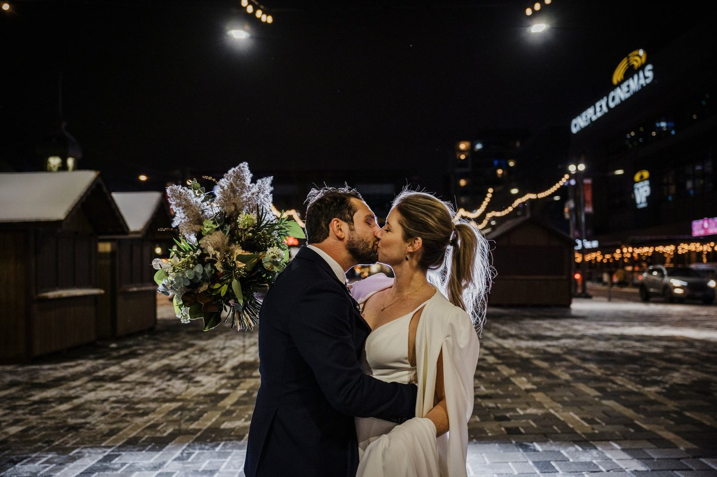 Horticulture Building Winter Wedding