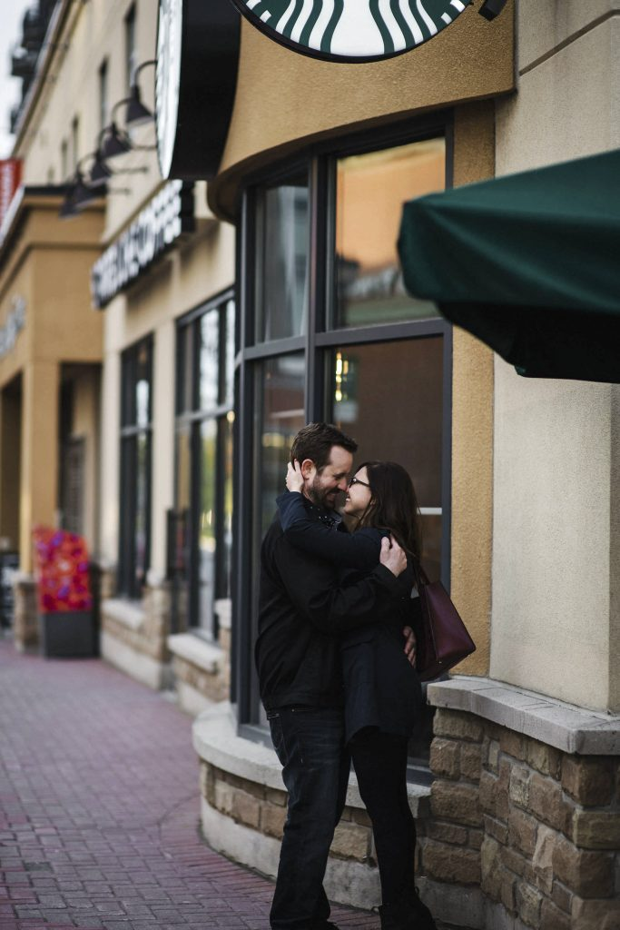 Ottawa Starbucks Engagement by Cindy Lottes Photography