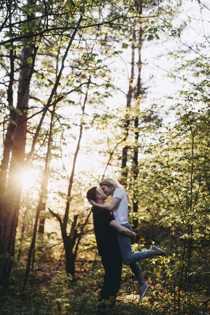 Shaw Woods Engagement by Cindy Lottes Photography
