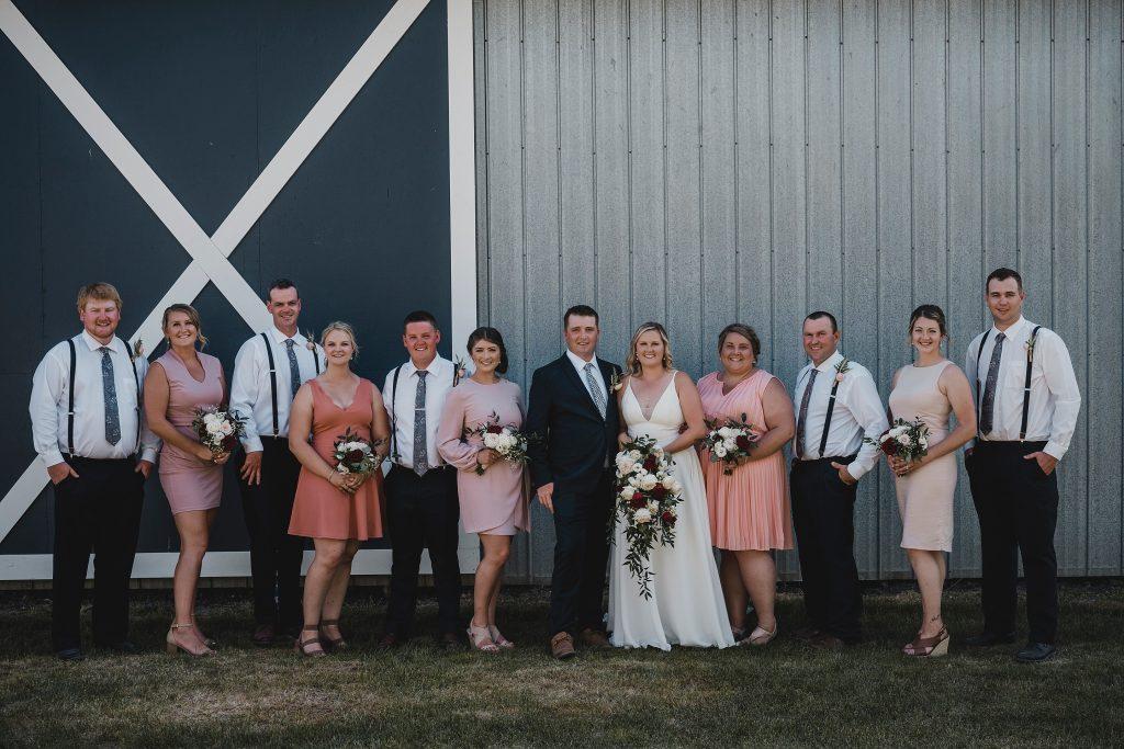 Dunrobin Intimate Backyard Farm Wedding
