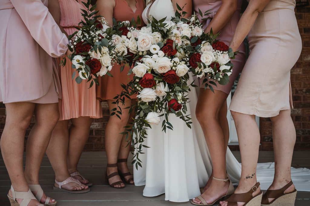 lisa hammond-nigent floral design bouquets for the girls