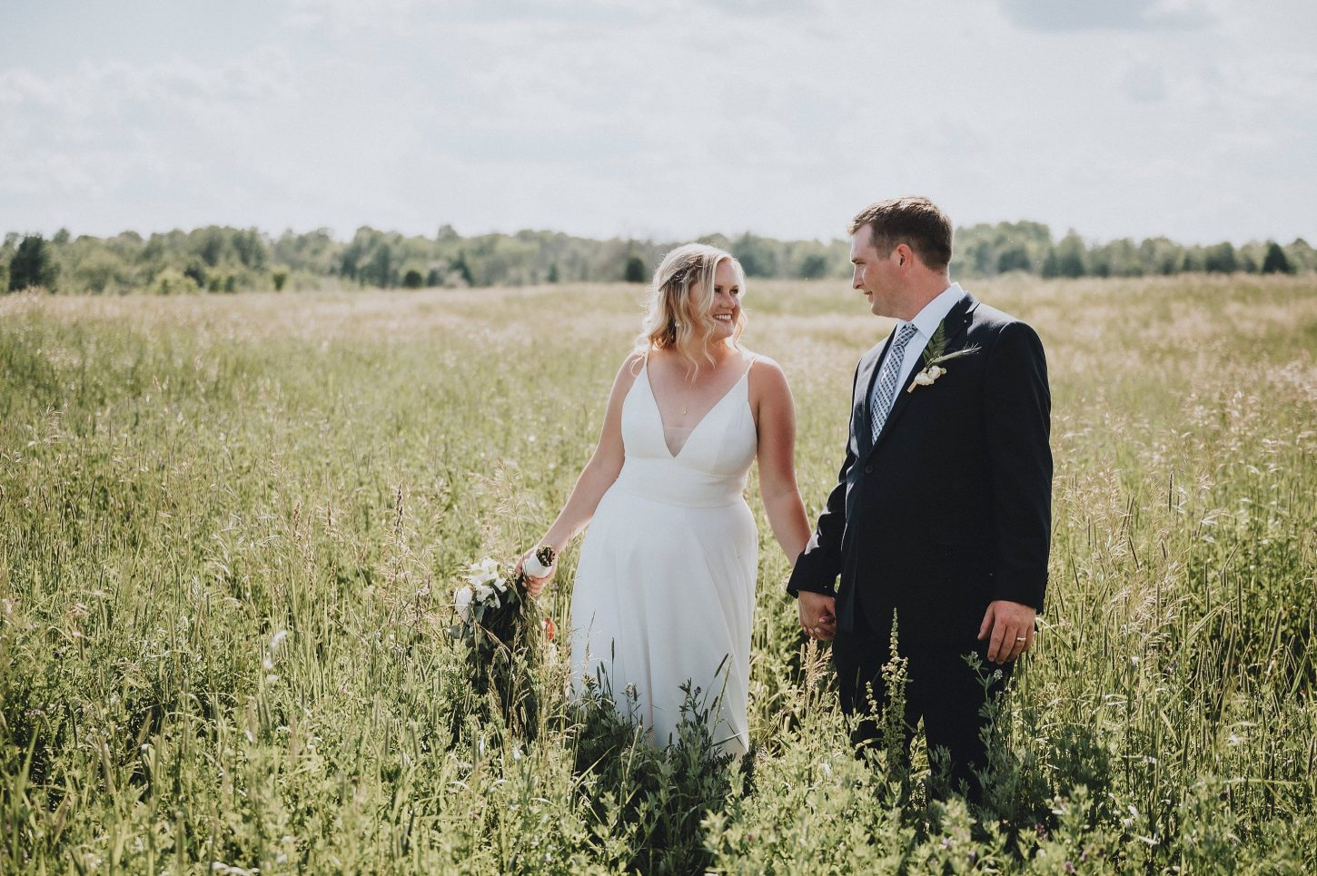 Dunrobin Backyard Wedding