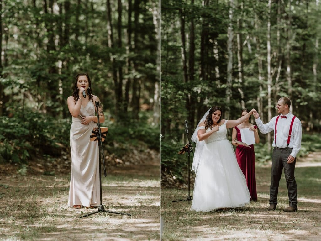 Kazabazua Wedding - wedding in the forest