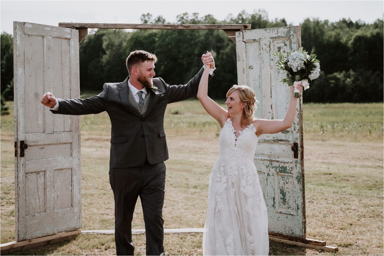 Ladysmith Intimate Outdoor Wedding