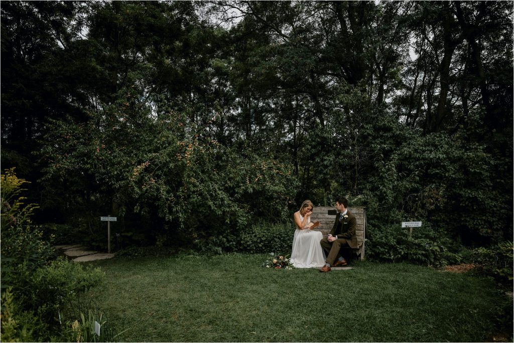 Fletcher Wildlife Garden Intimate Ottawa Wedding