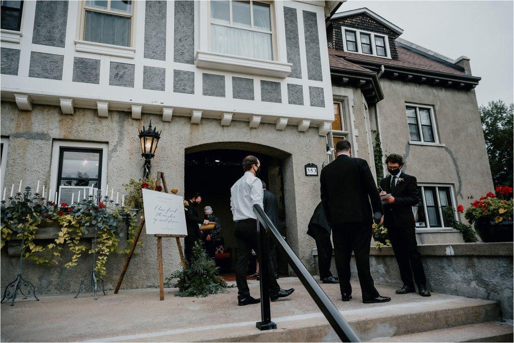 Grey Gables Inn Wedding in Pembroke