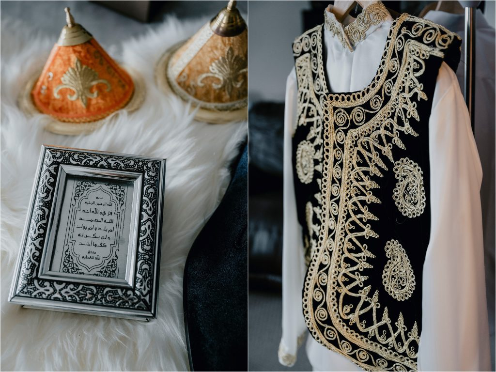 Algerian Groom's suit.
