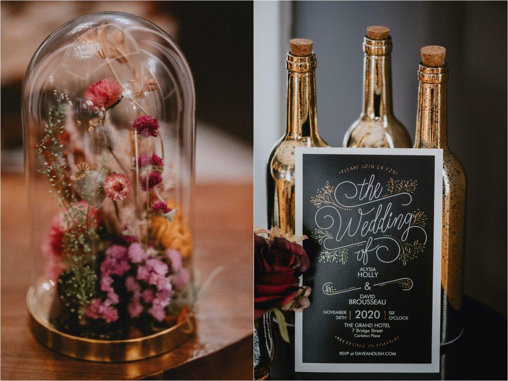 wedding florals by Pollen Nation Floral Studio
